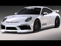 2014 Misha Design Porsche 911 991  body kit revealed before SEMA 2013 -  Will make it's debut on the iForged  Foregestar booth - Agresive kit with  new bumpers, revised side skirts, and a  rear diffuser - vented hood and rear  spoiler - available in Carbon Fiber