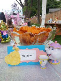 Beauty & The Beast Chip's Chips! Love it!