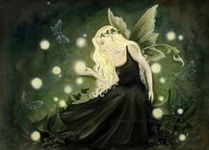 Flower Fairies by JannaFairyArt on DeviantArt Fairy Myth Mythical Mystical Legend Elf Faerie Fae Wings Fantasy Elves Faries Sprite Nymph Pixie Faeries Hadas Enchantment Forest Whimsical Whimsy Mischievous
