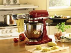 KitchenAid Artisan Five Quart Stand Mixer- so many ways to use this kitchen must-have! Photo by Macy's