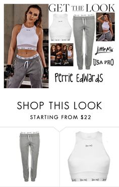 """Perrie Edwards Little Mix USA Pro November 2016 #2"" by valenlss ❤ liked on Polyvore featuring USA Pro"