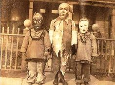 Vintage Halloween Costumes that Will Scare the Crap Out of You! // StorybookApothecary.com #vintagehalloweencostumes #halloween #scary #costume #creepy