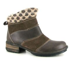Sandra50 Taupe - Women's Ankle Boots By Josef Seibel Sandra50 Green Ankle boots by Josef Seibel. Designed with a distressed look in contrasting leather and nubuck uppers. Guaranteed to keep your feet warm and right-in fashion!