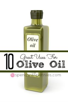 10 Great Uses for Olive Oil!