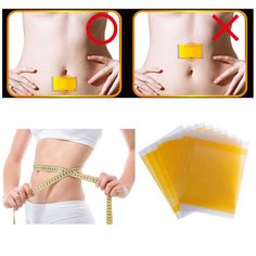 100pcs/10bags Slimming Navel Sticker Slim Patch Lose Weight Loss Burning Fat Slimming Cream Health Care Wholesale C070