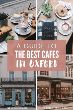 Oxford is full of cafes and its ever-growing coffee scene is just another reason to add this city to your bucket list. Get the low down on all about the best cafes in Oxford. Know where to eat and drink on your trip to Oxford. Coffee Shops, Best Coffee Shop, Deli Cafe, Oxford City, London Travel, Travel Uk, Travel England, Travel Europe, Cool Cafe