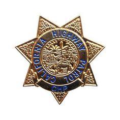 CHiP's Pin (California Highway Patrol), gold