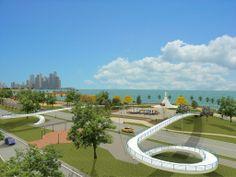 lugaresturistico de panama    costera de unas de las principales avenidas de la ciudad de Panamá ...