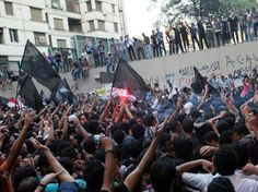 On 9-11 Egyptians Chant, Destroy American Embassy Flag.  BARACK OBAMA'S FOREIGN POLICY IS AN EPIC FAILURE!