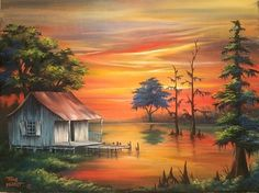 Discover some basic and simple technique of painting with our Acrylic Painting Tips - The result will impress and value added your artwork! Easy Landscape Paintings, Nature Paintings, Watercolor Landscape, Beautiful Paintings, Landscape Art, Beautiful Landscapes, Watercolor Paintings, Art Paintings, Painting Art