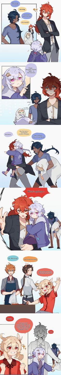 Anime Red Hair, Manga Anime, Anime Art, Hetalia America, Pretty Anime Girl, Cute Anime Pics, Cute Chibi, Albedo, Cute Comics