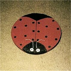 Stepping Stone Pictures: Ladybug Garden Stepping Stone