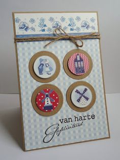 Because it's fun to create. Diy Cards With Buttons, Washi Tape, Inchies, Frame Crafts, Craft Frames, Marianne Design, Love Craft, Windmill, Cardmaking