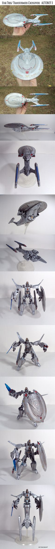 Heavy/Scratch: Star Trek/Transformers Crossovers: Autobot E - TFW2005 - The 2005 Boards
