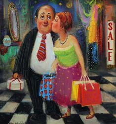 Счастливая жена. Автор: Lado Tevdoradze.