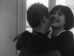 We do so much in life to just end in death. Anna Karina, Old Fashioned Love, Citations Film, French New Wave, Jean Luc Godard, Old Money, Couple Aesthetic, Imagines, Film Stills