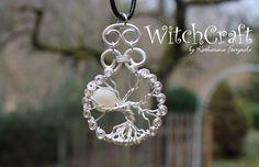 """Amulett """"Lebensbaum - Luna"""" Yggdrasil von WitchCraft auf DaWanda.com"""