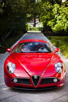 Alfa Romeo 8C Competizione by davidbushphoto.com, via Flickr