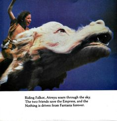 The Neverending Story Picture Album: Based on the Movie by Michael Teitelbaum. A Golden Book, Western Publishing, 1984.
