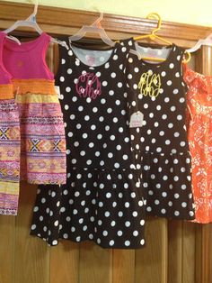 More of the $5 Healthtex Dresses! These are for a friends granddaughters