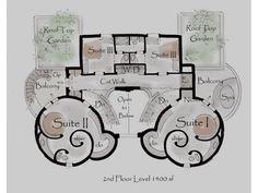 Castle House Plan Kinan