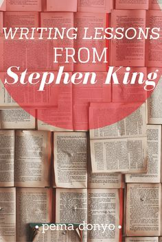 Writing Lessons from Stephen King