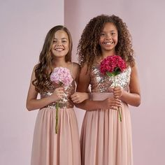 There's whole lot of preciousness to add to with our dreamy bridesmaids styles for Juniors! Junior Bridesmaids, Bridesmaid Dresses, Wedding Dresses, Jasmine Bridal, Just Engaged, Team Bride, I Got Married, Weddingideas, Wedding Inspiration