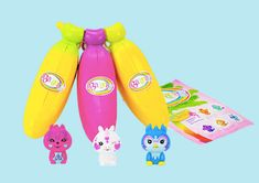 Inspired by Savannah: We are Going Bananas for the New Season 2 Bananas Collectibles from Cepia - Just in Time to Grab (If You Can Find Them) and Add to Your Child's Easter Basket (Review) #BananasToys #BananasCollectibles Banana Toy, Go Bananas, Collectible Toys, Easter Gift, Holiday Gift Guide, New Toys, Easter Baskets, Small Bags, Cool Toys