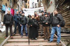 Galata Sokaklarında Kadraj Gezginleri
