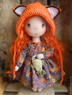 Купить Кукла Мамина Лисичка - кукла ручной работы, кукла, коллекционная кукла, кукла интерьерная