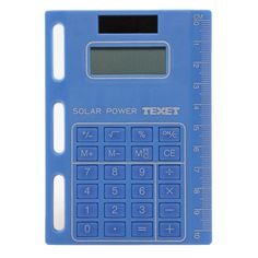 Call @ 9769465202. Buy Texet ORG1-C4LC 8-Digit Solar Powered Best Desktop Calculator in Blue from shopattack.in at Rs. 134 only. Call us now.