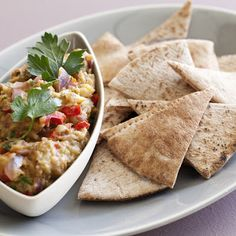 Roasted Eggplant Dip by Ina Garten