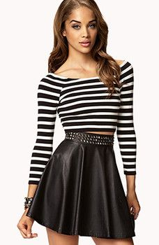 Five must-have crop top styles for fall | Examiner.com