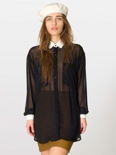 Sleeveless Secretary Blouse | Sleeveless | Women's Collared Shirts ...