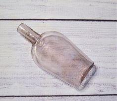 Vintage Light Lavender Glass Bottle Unmarked Cork Top Pale | Etsy Garden Trowel, Garden Tools, Red Sovine, Copper Planters, Glass Collection, Vintage Lighting, Glass Bottles, Cork, I Shop