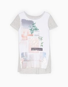 At Stradivarius you'll find 1 Combined photograph print top for woman for just 55.95 TRY . Visit now to discover this and more T-SHIRTS.