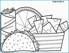 Image result for Dragons Love Tacos Coloring Pages ...