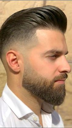 69 Trendy Beard Style For Round Face Men you Must Try Trimmed Beard Styles, Faded Beard Styles, Beard Styles For Men, Hair And Beard Styles, Short Hair Styles, Short Hair With Beard, Mens Hairstyles With Beard, Haircuts For Men, Mens Hipster Haircuts