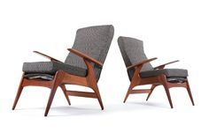 Fler SC55 Rocket Armchairs - Mr. Bigglesworthy Designer Vintage Furniture Gallery
