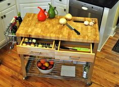 12 Diy Kitchen Island Plans To Add More Storage And Workspace