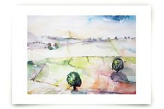 Open Land Ahead Art Prints by Megan Leong at minted.com