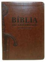 Bíblia Do Guerreiro - Letras grandes (Marrom Café)
