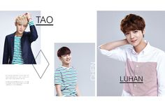 Lotte Duty Free featuring EXO, in Issue No.66, May 2014
