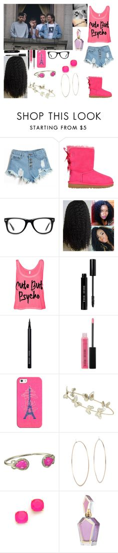 """""""Waving to Fans W/ Boyfriend, Liam and his Bandmates"""" by sydelle-nicholas ❤ liked on Polyvore featuring UGG Australia, Muse, Bobbi Brown Cosmetics, Casetify, Accessorize, Kendra Scott, Michael Kors and Kate Spade"""