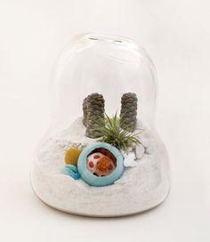Hand-Blown Glass Mini Terrariums by Lítill | DigsDigs