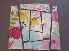 July 18, 2010   If you are feeling like you want to cut loose and do a few wonky blocks, maybe this will help you to get started. ;-D The n...