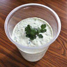 Chuy's jalapeno ranch dip| I actually made this and it is TASTY! Definitely buy more jalapenos than you think you want.