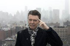 David Bowie - but only because he panicked in Detroit!