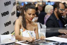 Actor Thandie Newton attends the 'Westworld' signing during San Diego Comic-Con 2017 at San Diego Convention Center on July 22, 2017 in San Diego, California.