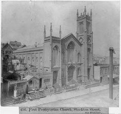 First Presbyterian Church, Stockton Street, San Francisco San Francisco Girls, San Francisco California, San Francisco Earthquake, San Pablo, Sea Witch, Northern California, Golden Gate, Bay Area, Taj Mahal
